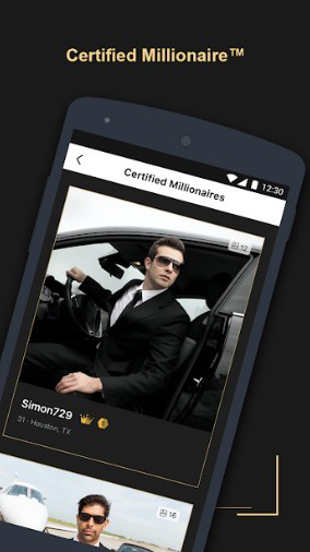 dating site for rich guys